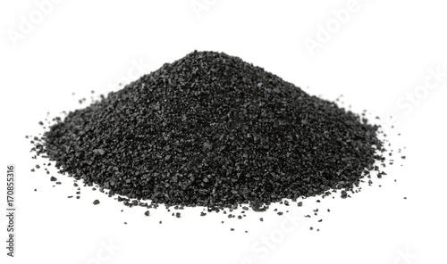 Photo Pile of crushed anthracite
