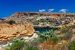 Malta. Typical coastline landscape.