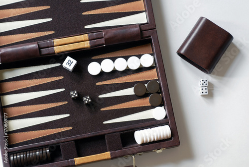 Fototapeta Backgammon Game
