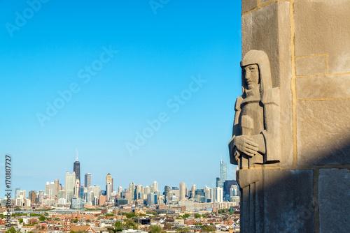 Zdjęcie XXL Art Deco i Downtown Chicago