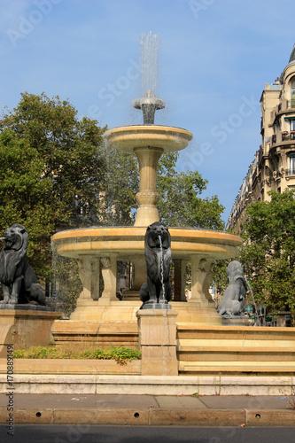 Paris - Place Félix Eboué Fototapete