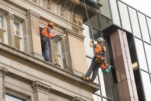 Fotografie, Obraz  Window Cleaner 3