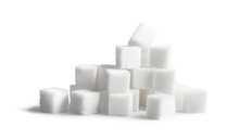 Sugar Cubes Isolated On White ...