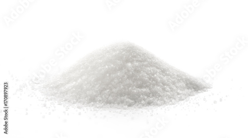Fotografie, Obraz  Sugar isolated on white background