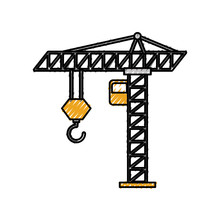 Tower Construction Crane Cabin...