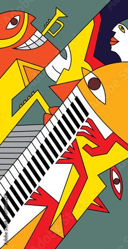 abstrakcyjna-jazzowa-sztuka
