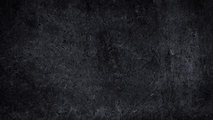 ciemna metalowa tapeta z rockowym tłem. sztuka abstrakcyjnej czarnej tekstury