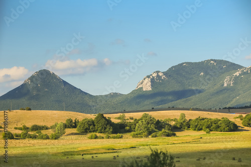 Fototapeta View of rural landscape obraz na płótnie