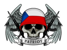 Military Skull Or Patriot Skul...