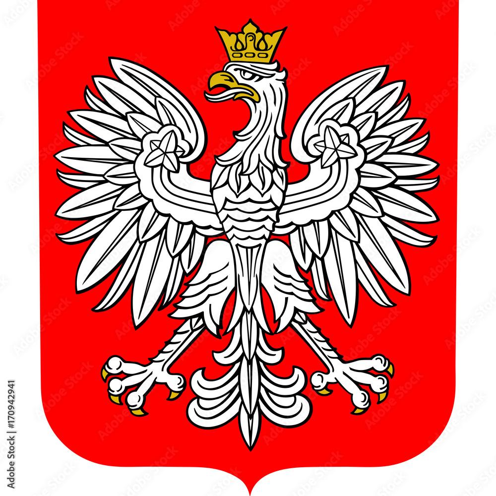 Fototapeta Coat of arms of Poland