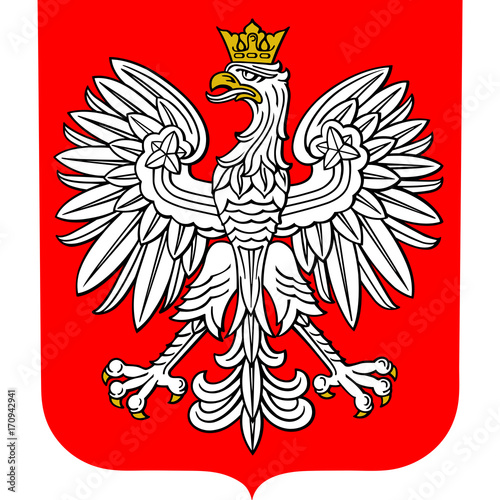 Plakat Herb Polski