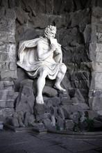Pan Statue