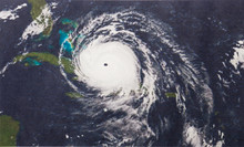Geocolor Image Of Hurricane Ir...