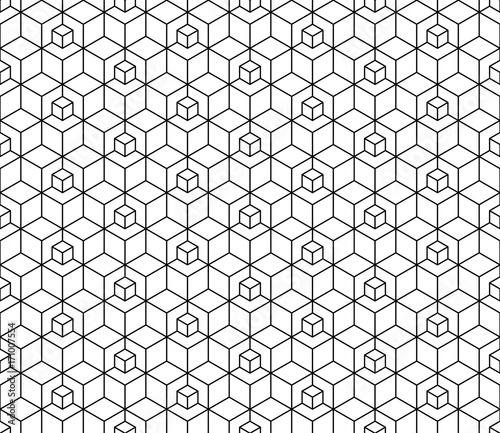 abstrakcjonistyczny-geometryczny-szescianu-bezszwowy-wzor-proste-tlo-minimalistyczny-projekt-graficzny-ornament-tkaniny-wektor
