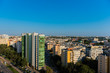panorama miasta, bloki