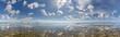 canvas print picture - Wolkenstimmung über der Nordsee