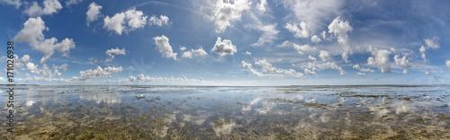 Fotografija  Wolkenstimmung über der Nordsee