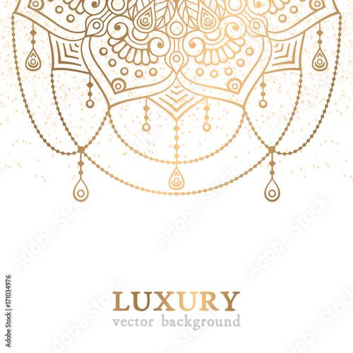 Fotografia  Luxury vector pattern