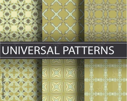 Türaufkleber Künstlich Pattern seamless texture vector