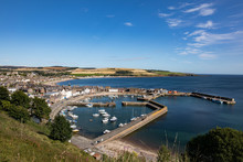 Stonehaven Harbor, Scotland