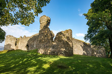 Old Inverlochy Castle Is Freely Open To The Public In Fort William, Scotland