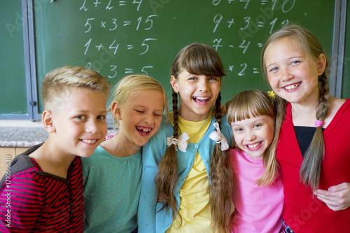 Zdjęcie XXL Dzieci w szkole