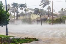Hurricane Irma And Tropical St...