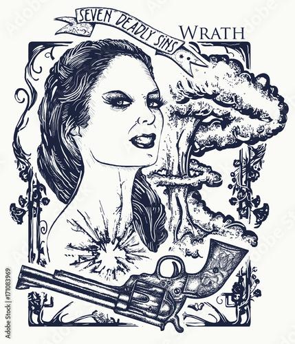 Obraz na plátně Wrath