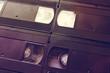 Retro video tape cassette background