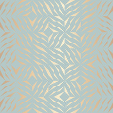Seamless Vector Geometric Gold...