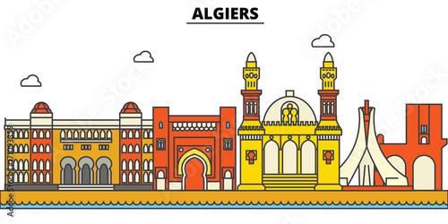 Algeria, Algiers Wallpaper Mural