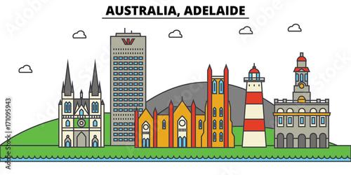 Australia, Adelaide Canvas Print