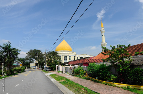 Exterior Of Masjid Jamek Sultan Abdul Aziz At Petaling Jaya Malaysia Modern Mosque And Community Building With Islamic Design And Architecture Buy This Stock Photo And Explore Similar Images At Adobe