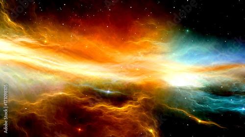 宇宙空間 Canvas Print