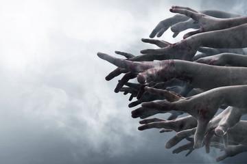Ręce zombie