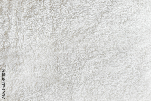 Cuadros en Lienzo Synthetic fur white texture for the background