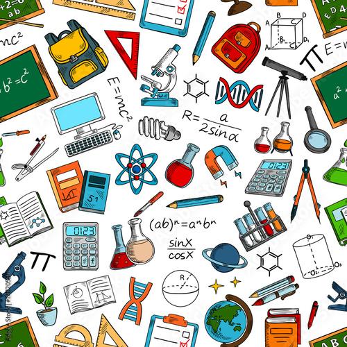 nauka-i-edukacja-bezszwowe-tlo-wzor