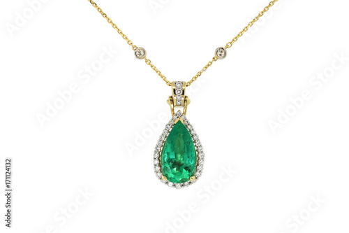 Foto  Smaragdkette Halskette
