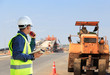 Road construction engineer
