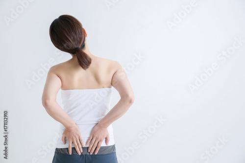Fotografía  腰痛の女性
