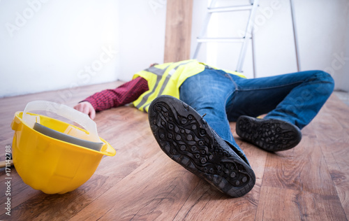 Photo Painful worker after on the job injury