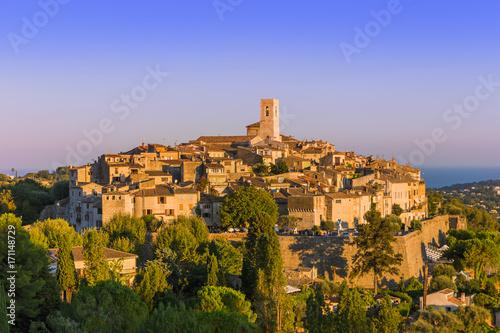 Fotomural  Town Saint Paul de Vence in Provence France