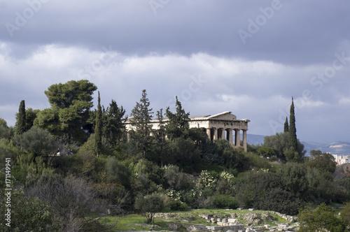 фотография Hellenic Temple of Hephaestus in Athens, Greece