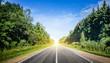 Leinwandbild Motiv Beautiful highway road