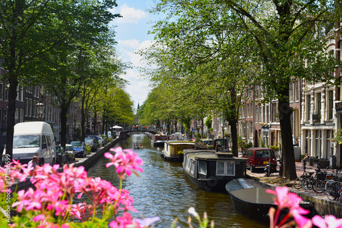 Poster Amsterdam Canale