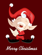 Happy Kid Santa Claus