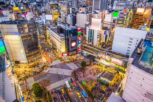 obraz lub plakat Shibuya, Tokyo, Japan