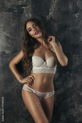 Sexy brunettes in lengerie