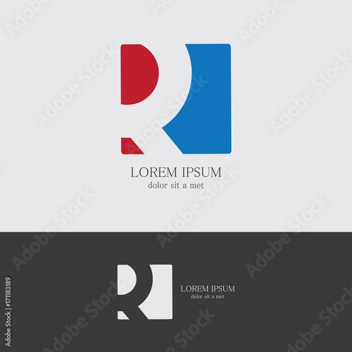 Photo  letter R company logo