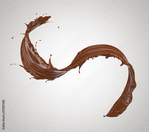 chocolate splash Fototapete